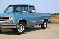 1987 chevrolet C/K Truck 2WD Regular Cab 1500 for sale 100722720